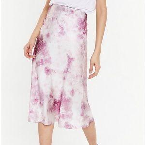 Nastygal Tie Dye Skirt